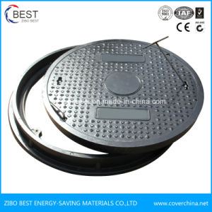 OEM D400 Made in China Round 700mm Plastic Sewer Manhole Cover pictures & photos