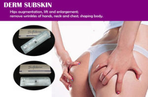 Cross-Linked Hyaluronic Acid Dermal Filler with Ce Certificates for Esthetic Beauty Derm Subskin 20ml pictures & photos