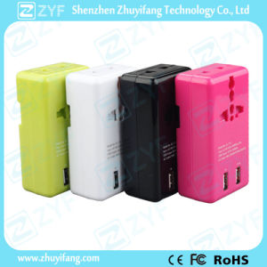 Travel Dual USB 2-Port 5V 2A Wall/Home Charger Adapter (ZYF9025) pictures & photos