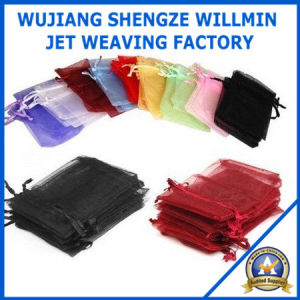 Organza Drawstring Pouches Gift Bags pictures & photos