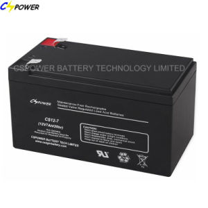 12V7ah Lead Acid Battery UPS Battery with CE ISO pictures & photos