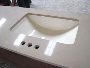 Granite Marble Quartz Stone Prefab Countertop pictures & photos