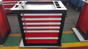 China Wholesale Metal Storage Tool Cart with Combination Tools pictures & photos