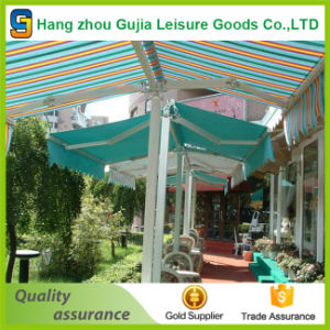 Retractable Awning with Steel Hand-Crank (HZ-GJ010212) pictures & photos