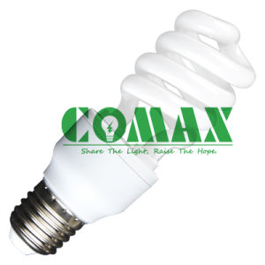 CE Approved T3 9W CFL Half Spiral Energy Saving Light pictures & photos