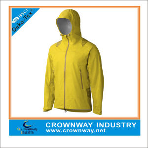 Nylon Ripstop Sports Running Jackets with Breathable and Waterproof Lamination pictures & photos