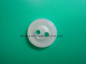 2 Holes New Design Polyester Shirt Button (S-110) pictures & photos