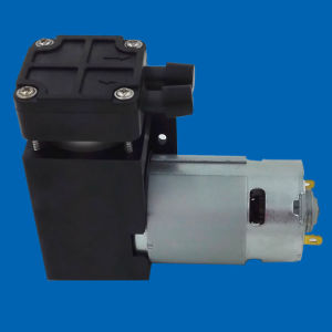 28L/M Flow 900mbar Vacuum Electrical DC Brush High Vacuum Piston Pump