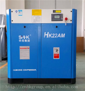 22kw 30HP Stationary Screw Air Compressor for Factory Use pictures & photos