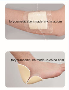 Wound Care Super Absorbent Heel Non Border Foam Dressing pictures & photos