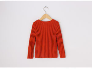 100% Cotton Knitting Sweater for Girls pictures & photos