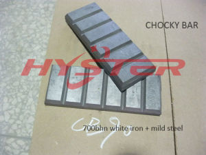 Laminated High Chrome White Iron Chocky Bar for Excavator Buckets Abrasion Protection pictures & photos