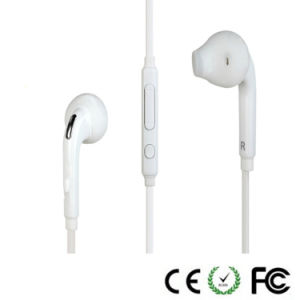 Flat Cable Cellphone Earphone for Samsung Galaxy S6 / S6 Edge pictures & photos