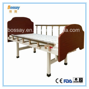 Wooden Flat Care Bed Nusing Bed with One Functions pictures & photos
