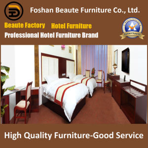 Hotel Furniture/Luxury Double Bedroom Furniture/Standard Hotel Double Bedroom Suite/Double Hospitality Guest Room Furniture (GLB-0109853) pictures & photos