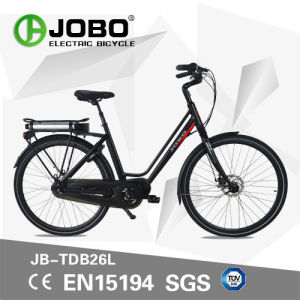 Moped Crank Motor Electric Bike New Style Pedelec E-Bicycle (JB-TDB26L) pictures & photos