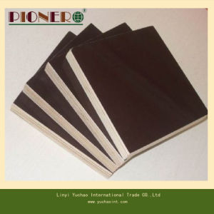 Black Film Faced Plywood 12mm, 15mm, 18mm, 21mm pictures & photos