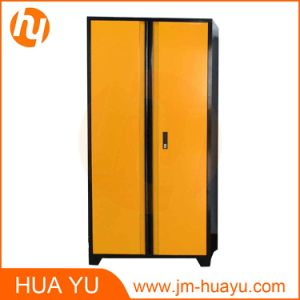 4 Adjustable Shelves and Locking Swing-out Doors Colorful Steel Storage Filing Cabinet pictures & photos