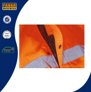 Orange Waterproof Hi Vis Bomber Jacket pictures & photos