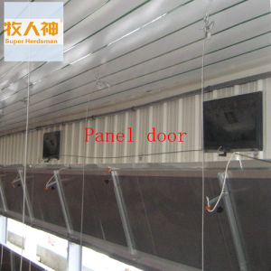 Steel Panel Door for Broiler in Poultry House pictures & photos