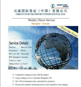 FCL Freight From China to Toronto, Canada