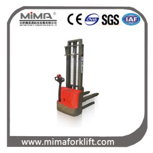 Mima Battery 24V Walkie Pallet Stacker with CE Certificate pictures & photos