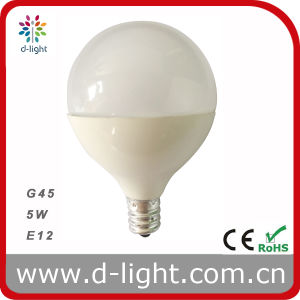 G45 E12 110V Mini LED Bulb 5W 400lm pictures & photos
