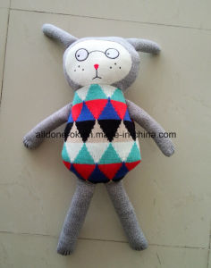 Factory Supply Knit Sweater Fabric Baby Handmade Toy pictures & photos