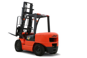 3.5ton Diesel Engine Forklift Truck with Full Free Mast pictures & photos