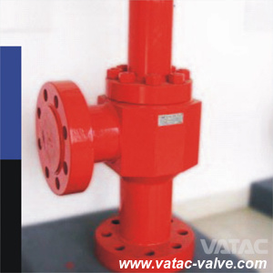 API 6A Cast/Forged Steel Manual Operated RF/Rtj Drilling Choke Valve pictures & photos
