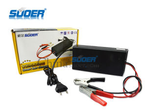 Suoer 20A Auto Fast Battery Charger 12V Smart Battery Charger with Three Charging Mode (SON-1220) pictures & photos