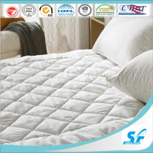 Wholesale 100%Cotton Quilted Waterproof Mattress Pad pictures & photos