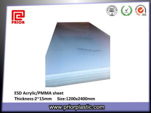 6X1220X2440mm Polycarbonate ESD Sheet with Clear Color pictures & photos