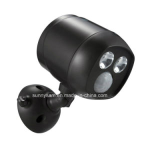 Waterproof Wireless Battery Powered Ultra LED Bright Spotlight with Motion Sensor pictures & photos