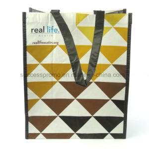 Eco-Friendly RPET Laminated Shopping Bag for Promotional Gift pictures & photos
