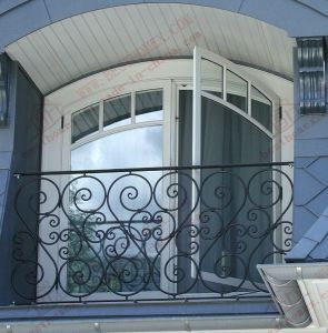 Powder Coating Aluminium Arch Side-Hung Window (BHA-CWA20) pictures & photos
