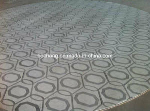 Marble Pattern Border, Water-Jet Marble Medallion for Interior Decoration 04 pictures & photos