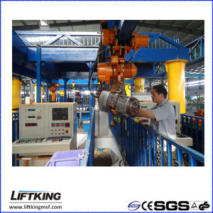 Liftking 2t Dual Speed Electric Chain Hoist with Hook Suspension (ECH 02-01D) pictures & photos