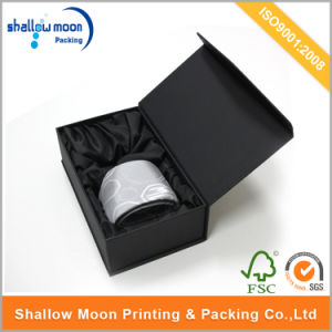 Customized Black Printing Magnet Closure Tie Packaging Paper Box (QYCI15190) pictures & photos