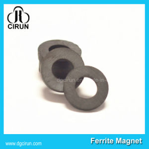 Custom Ring Ferrite Magnet for Electronics pictures & photos