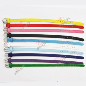 8mm Width Genuine Colorful Leather Bracelet (LB)