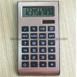 High Quality ABS 10 Digits Dual Power Handheld Calculator (LC528A) pictures & photos