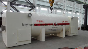Good Quality 30000L Low-Middle Pressure Cryogenic Tank for LNG for Ship