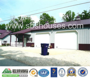 2015 Modular House Prefab Steel House Construction Garage pictures & photos