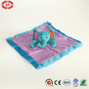Blue Elephant Purple Cute Gift Baby Bathroom Care Blanket pictures & photos