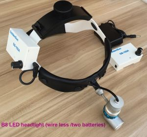 Medical Surgical LED Headlight Rechargeable Battery Portable Dental Ent Head Lamp pictures & photos