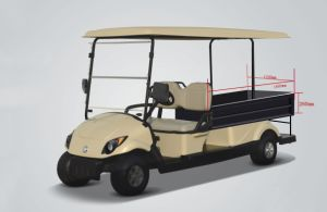 New 2 Seater Electric Golf Cart with a Cargo Box pictures & photos