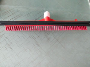 Plastic Broom Foldable Floor Broom with Squeegee pictures & photos