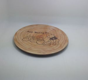(BC-P1007) Good Quality Natural Bamboo Fiber Tableware Plate pictures & photos