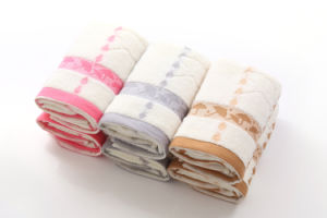 100% Cotton Embroidered Face Towel